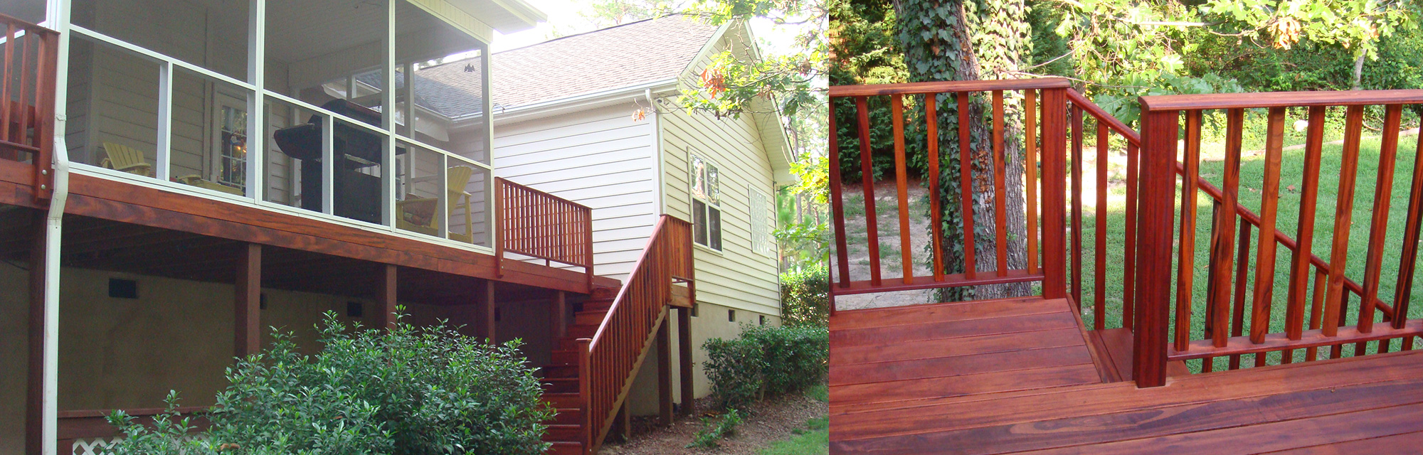 Deck Construction Services in North Carolina